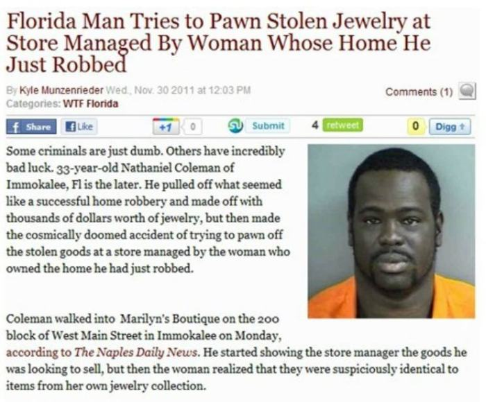 Say Hello To Some Of The Dumbest Criminals Ever (19 pics)