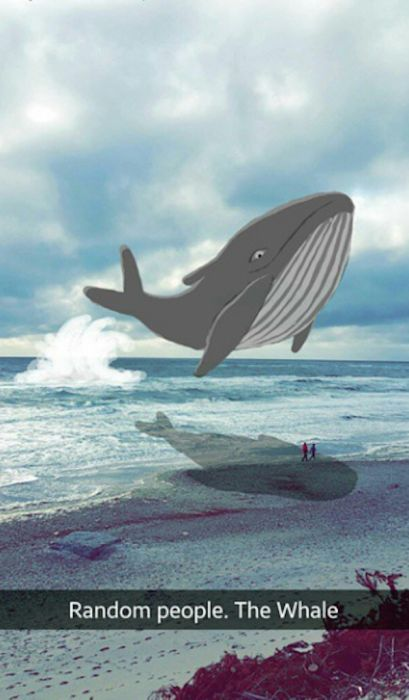 This Person Turned Random Snapchat Photos Into Real Masterpieces (20 pics)