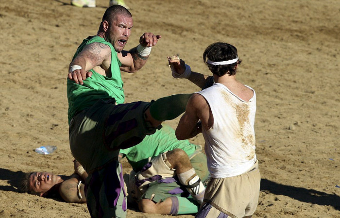 This Sport Takes Violence To A Whole New Level (27 pics)