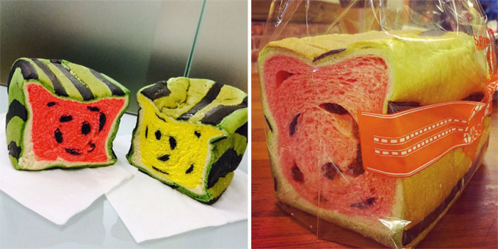 Taiwan Invents Bread That Looks Like Watermelon And Tastes Delicious (7 pics)