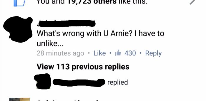 Homophobe Gets Owned By Arnold Schwarzenegger On Facebook (3 pics)