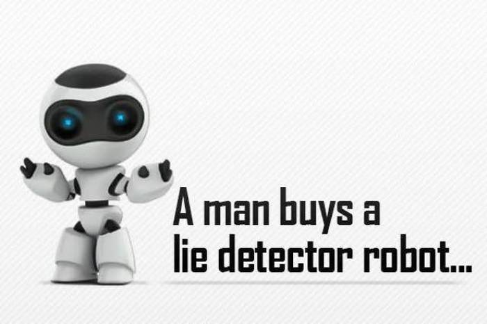 Dad Buys Lie Detector Robot For His Son But It Totally Backfires (2 pics)