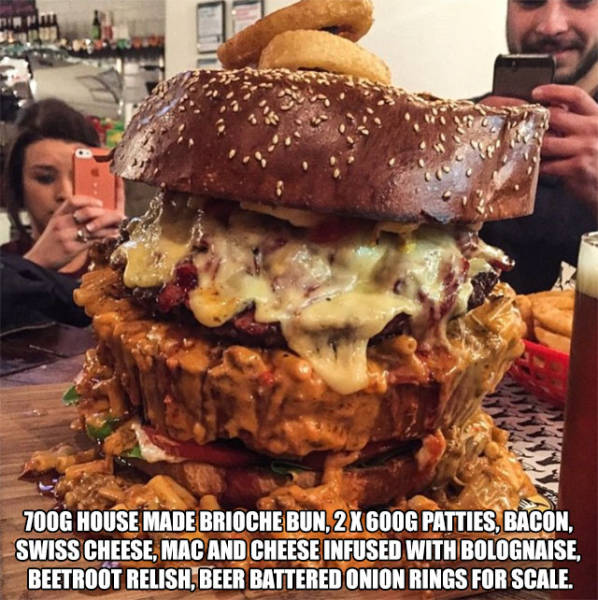 Massive Food Concoctions That Will Make Your Mouth Water (14 pics)
