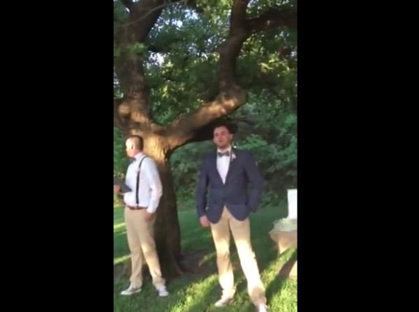 The BEST groom reaction to his bride