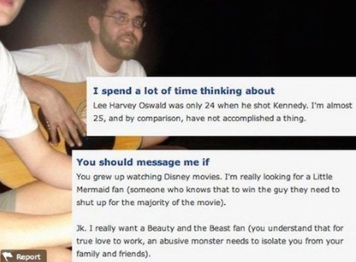 OkCupid Users That Prove True Love Is Only One Click Away (12 pics)