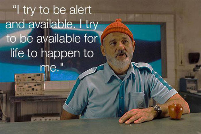 Bill Murray Is A Man Full Of Wisdom (17 pics)
