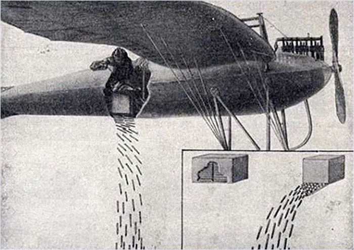 This Is What Pilots Dropped Before They Dropped Bombs  (10 pics)