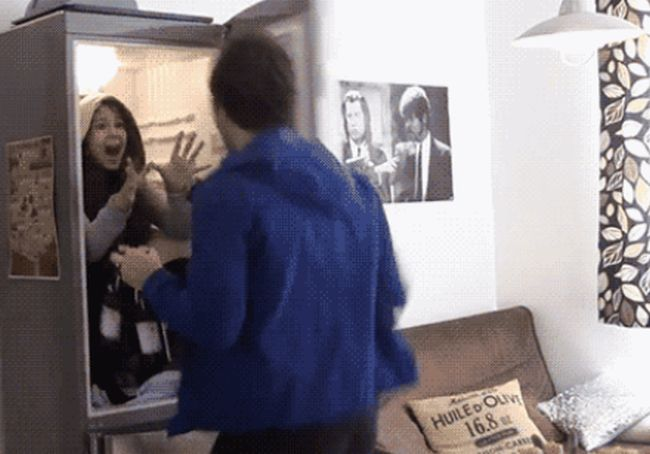 19 GIFs That Show Off Absolutely Perfect Pranks (19 gifs)
