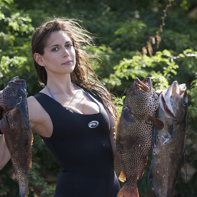 Valentine Thomas Is The Spearfishing Huntress That's Changing The Game (64 pics)