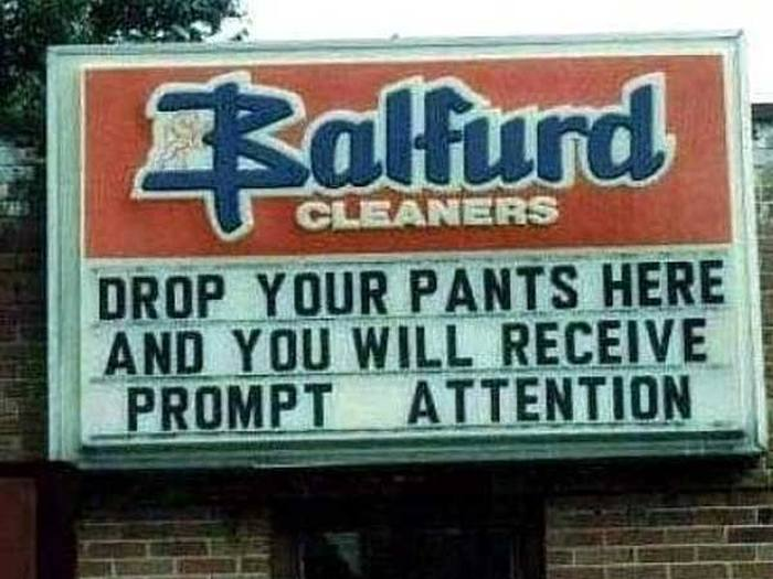 Advertising Slogans That Did Not Choose Their Words Carefully (22 pics)