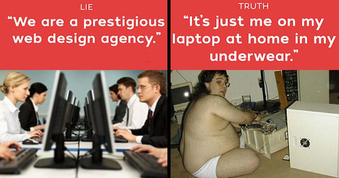 Lies All Web Designers Tell Their Clients (15 pics)