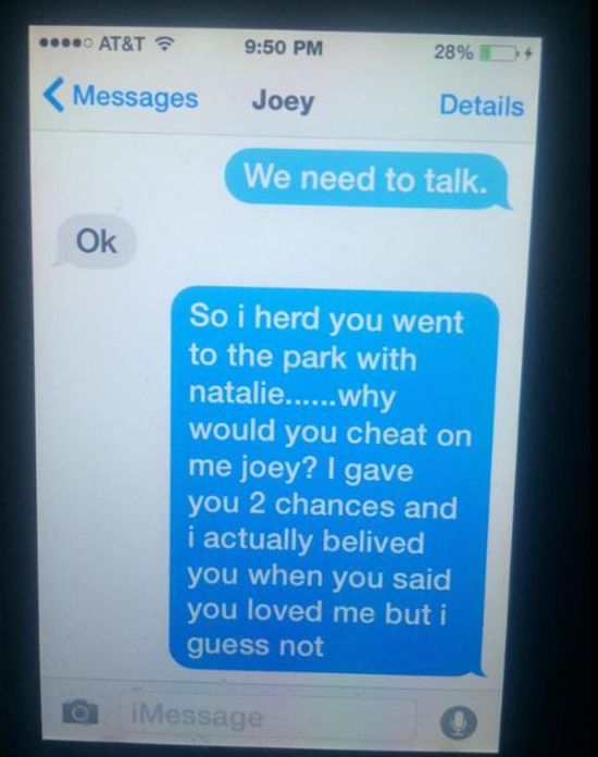 11 Year Old Girl Burns Her Ex-Boyfriend To The Ground Via Text Message (3 pics)
