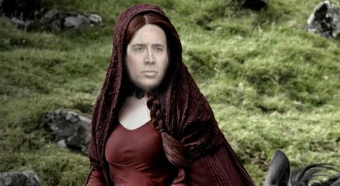 What 30 Game of Thrones Characters Look Like With Nicolas Cage's Face (30 pics)