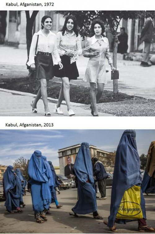 Then And Now (38 pics)