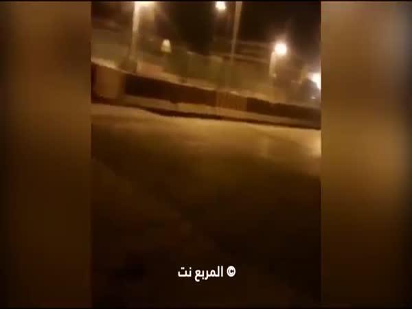Sleeping Policeman In Saudi Arabia