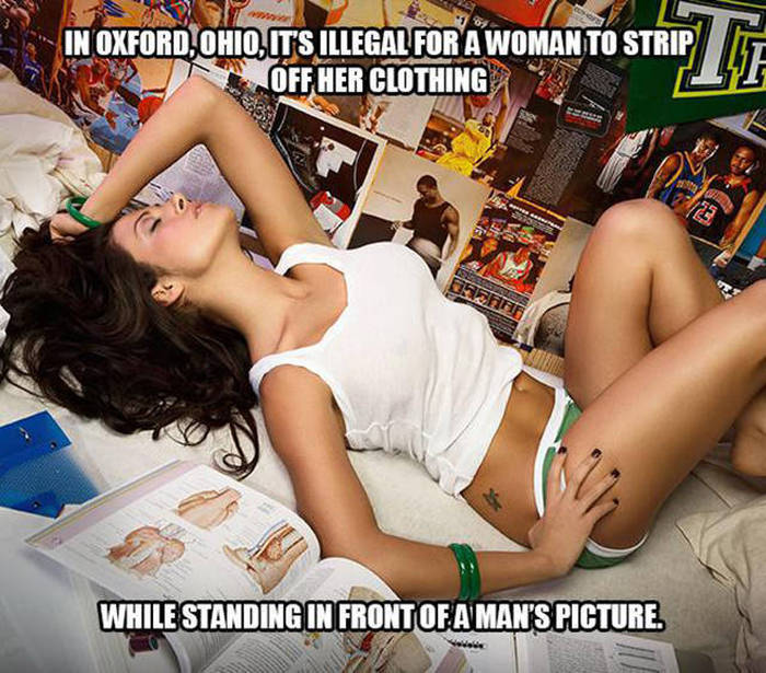 Bizarre Sex Related Laws You Won't Believe Exist (10 pics)