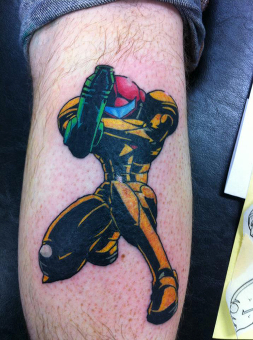 Gamers That Took Their Love Of Games To The Next Level With Awesome Tattoos (26 pics)