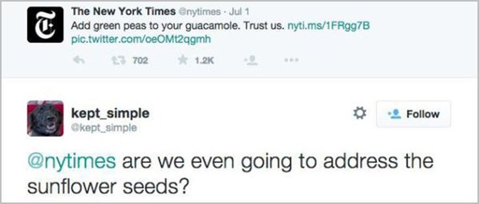 The Internet Reacts To The New York Times' Guacamole Recipe (15 pics)