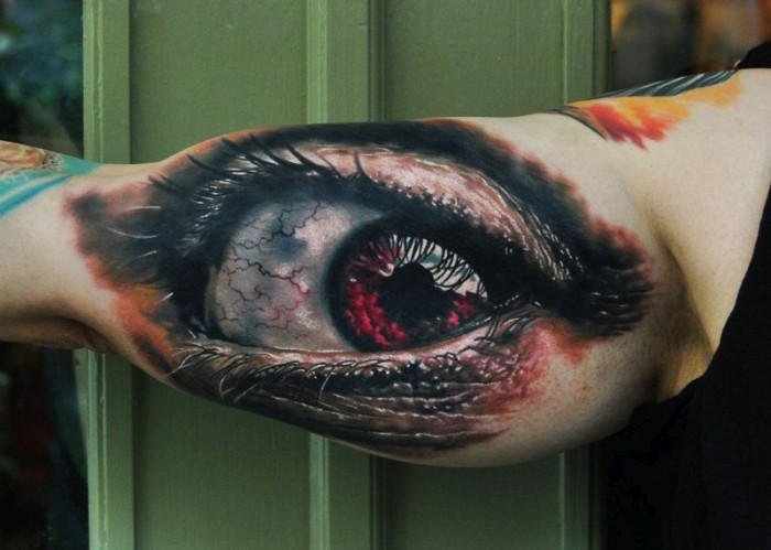 Surreal Images Come To Life In These 3D Tattoos (37 pics)