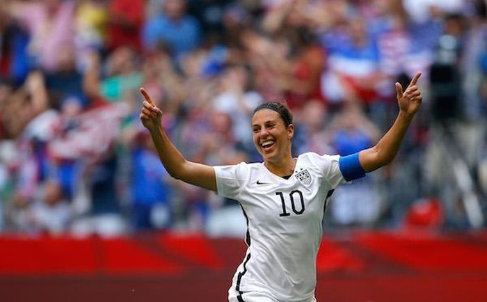 Carli Lloyd Helps Lead Her Team To A World Cup Victory (4 gifs)