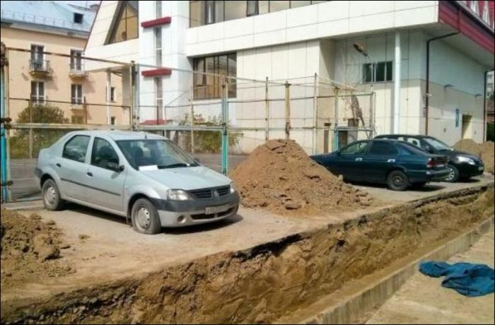 There's No Escaping This Epic Parking Fail (3 pics)