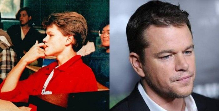 See How Matt Damon Grew Up On Screen (25 pics)