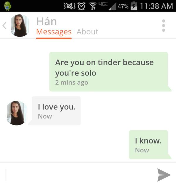 Hilarious Tinder Comebacks That No One Saw Coming (31 pics)