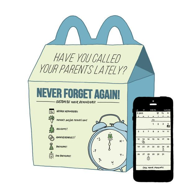 If McDonald's Made Toys For People In Their 20s (12 pics)