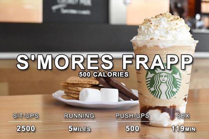 Here's How Much Work You Have To Put In To Burn Off Your Favorite Foods (16 pics)