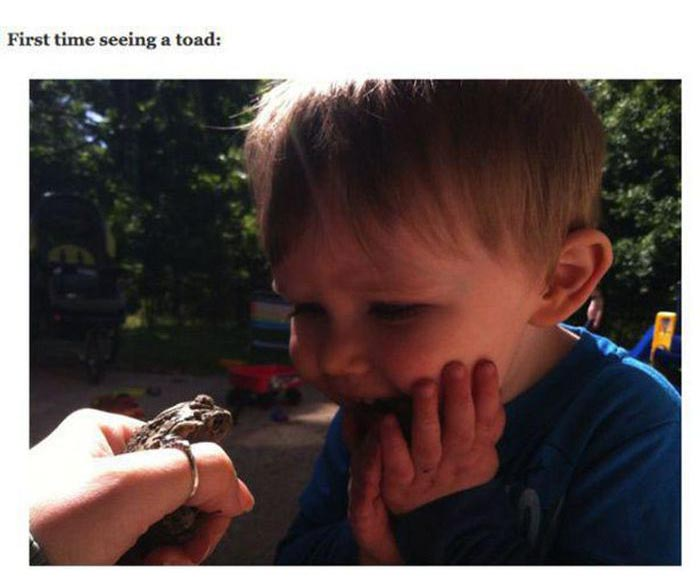What It Looks Like When Kids Experience Things For The First Time (25 pics)