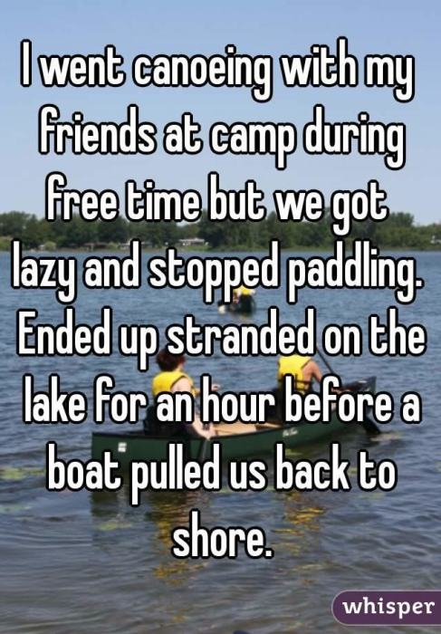 Hilarious Confessions From Summer Camp (16 pics)