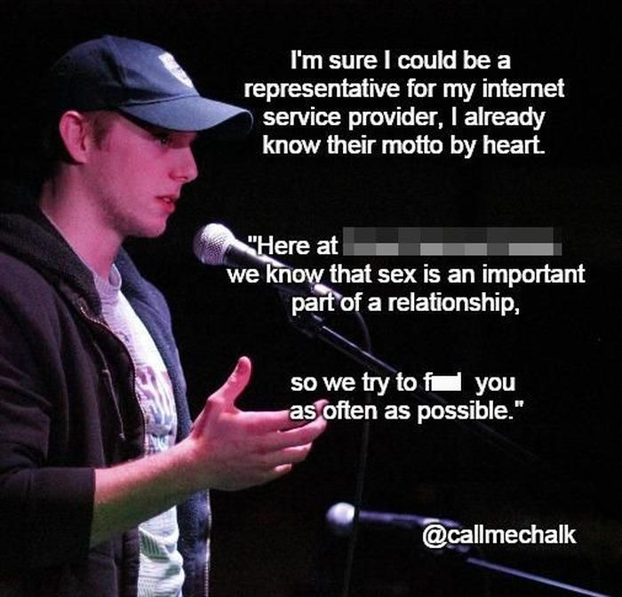 Here's A Hilarious Dose Of Laughter Courtesy Of Genius Stand Up Comedians (20 pics)
