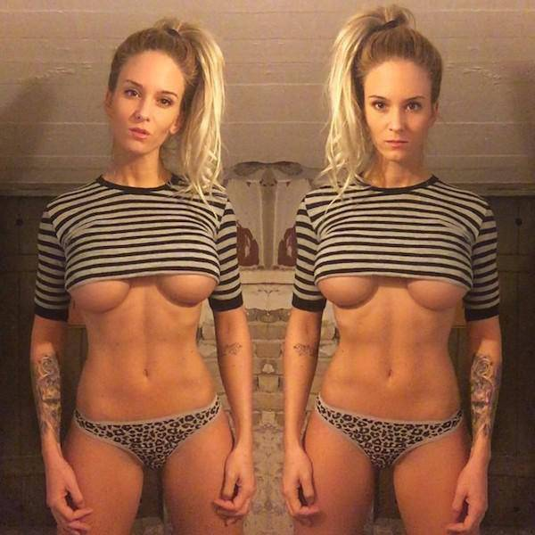 Underboob Is The Best Kind Of Eye Candy (45 pics)