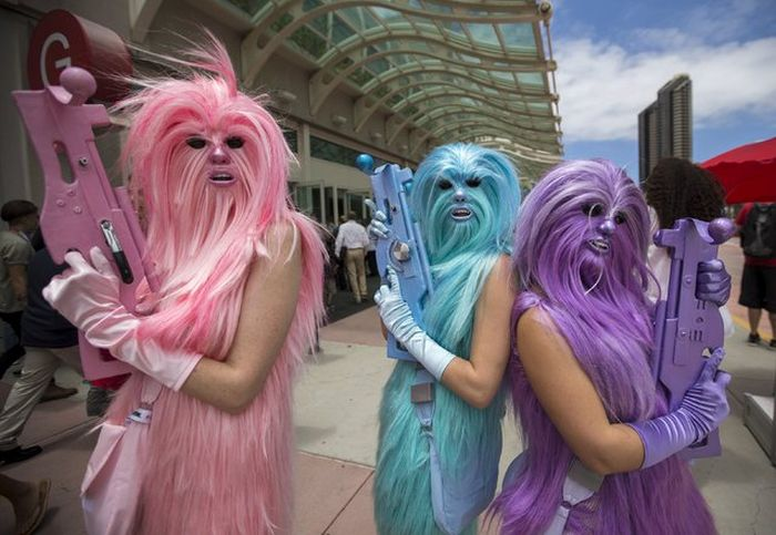 All The Best Pictures From Comic Con 2015 (28 pics)