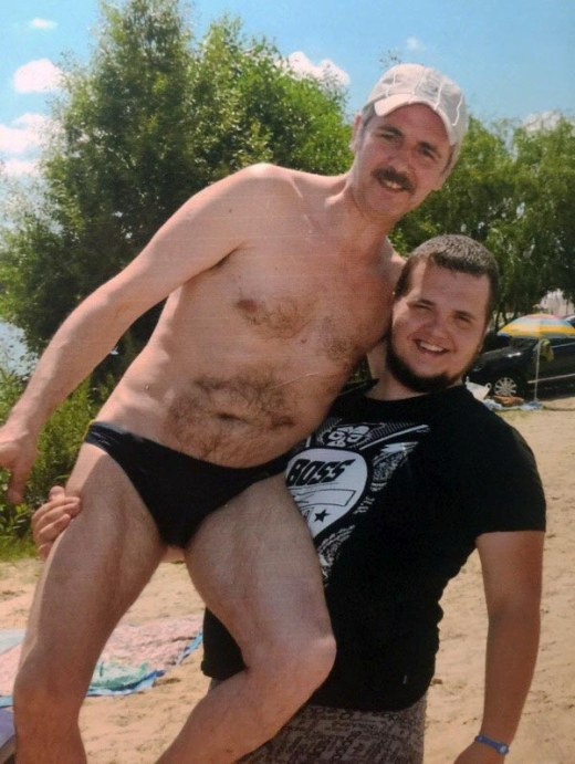 Father and Son 20 Years Later (2 pics)