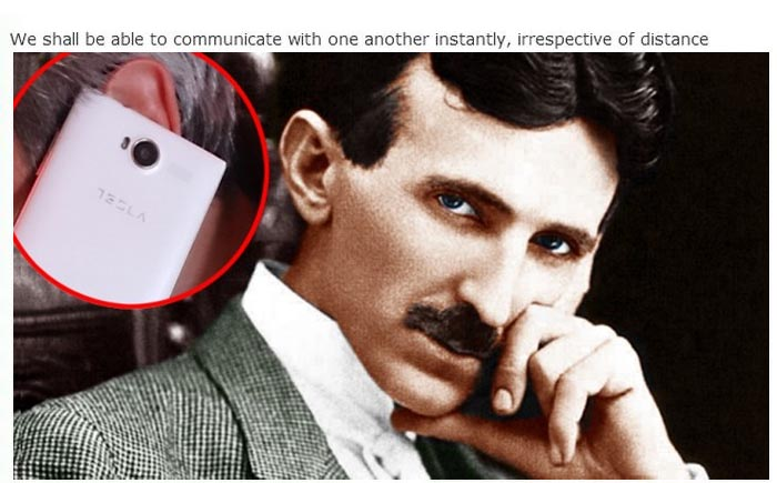 Nikola Tesla Predicted The Invention Of The Smartphone Back In 1926 (5 pics)