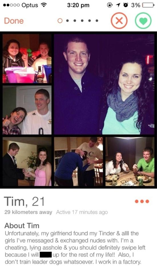 Cheaters Who Got Called Out On Tinder (6 pics)