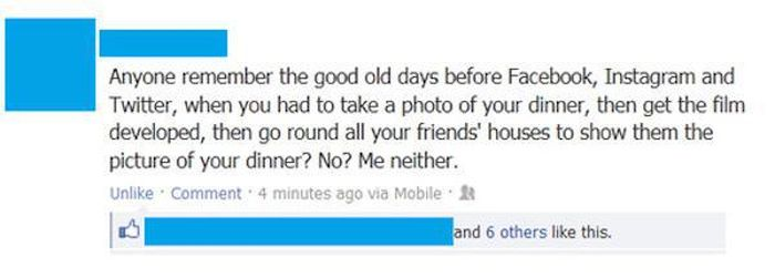 Facebook Posts That You Just Have To Laugh At (24 pics)