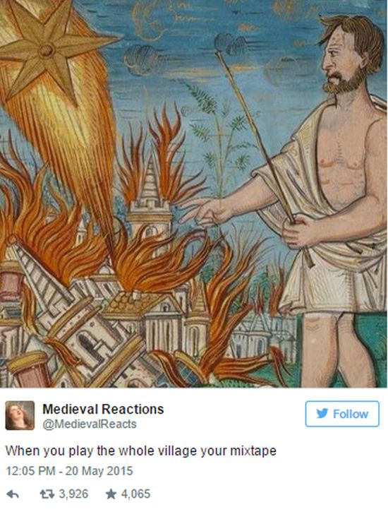 Medieval Reactions For Modern Day Situations (27 pics)
