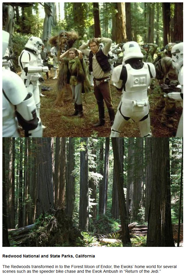 7 Locations From Star Wars That You Can Actually Visit (11 pics)