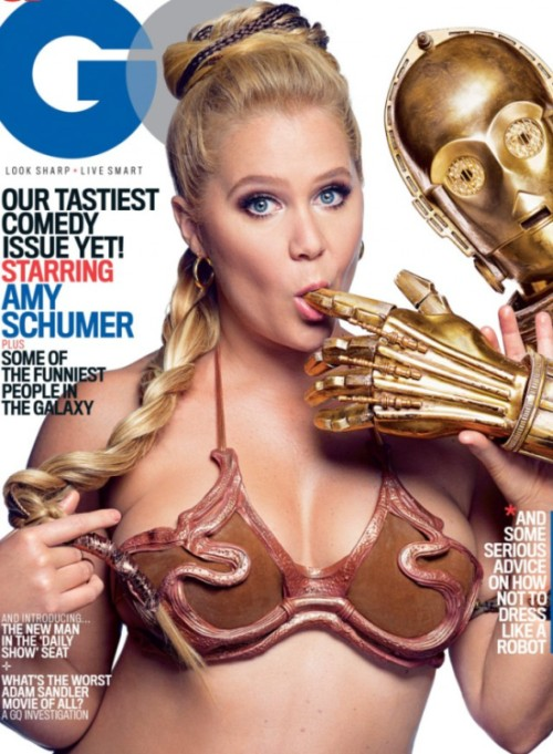 Amy Schumer Got Down And Dirty For This Star Wars Themed Photoshoot (6 pics)
