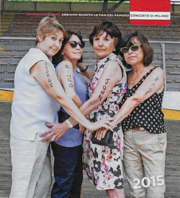 Beatles Fans 50 Years Later (2 pics)
