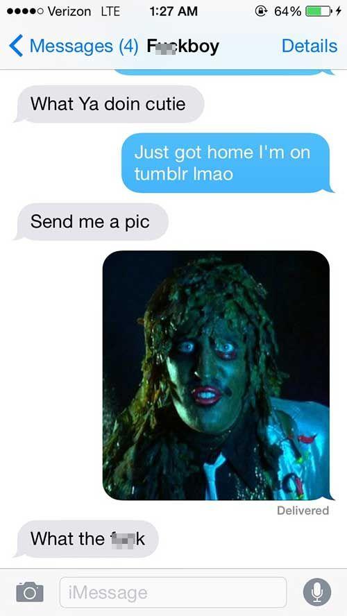 Flirty Guys That Got Shut Down Via Text Message (22 pics)
