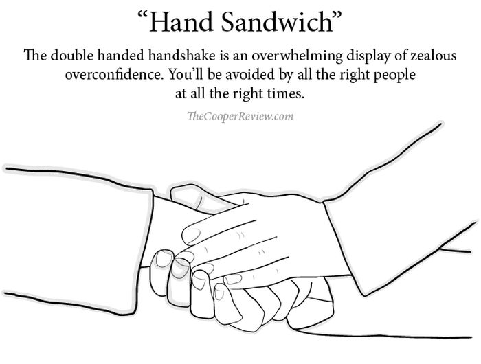 How The Handshake You Use Affects Your Career Path (10 pics)