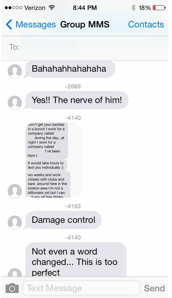 Guy Sends Group Message To 32 Tinder Girls And It Goes Horribly Wrong (17 pics)