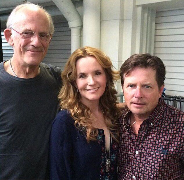 30 Years Later The Cast Of Back To The Future Reunited In London (10 pics)