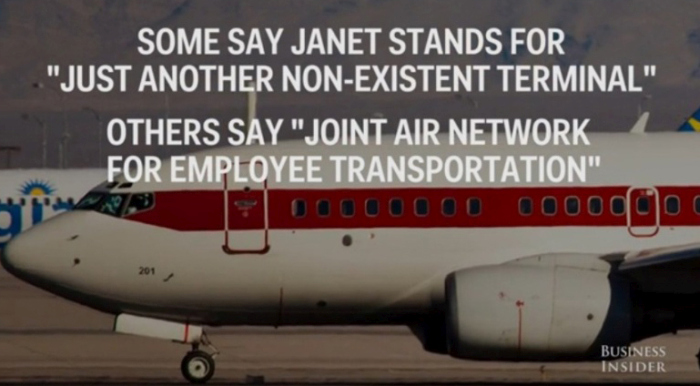 The Government Has A Secret Airline And It's Called Janet Airlines (9 pics)