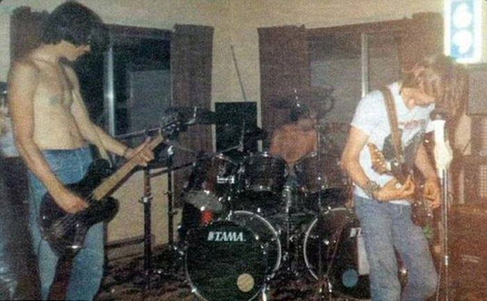 19 Year Old Finds Long Lost Pictures Of Nirvana's First Show (5 pics)