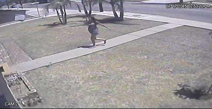 Pregnant Woman Caught On Camera Stealing An Amazon Package (7 pics)