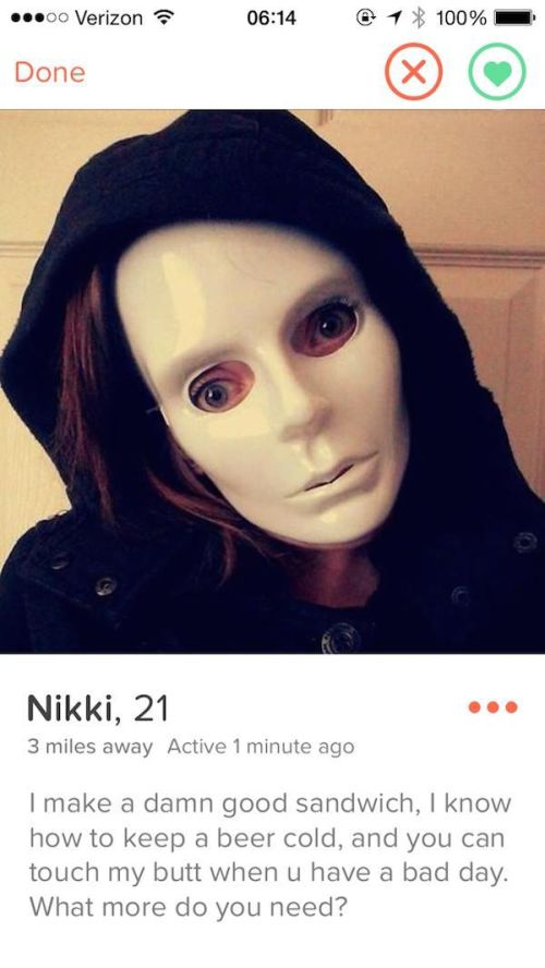 Tinder Profiles That Waste No Time Getting To The Point (21 pics)